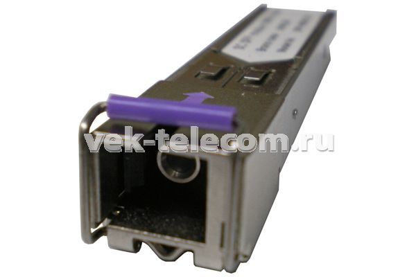Модуль SFP-100 Base-LX, WDM SC-SM=1550nm 20 km